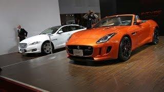 2014台北車展 Jaguar 前衛英倫風華