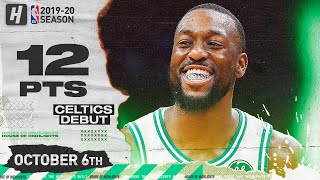 Kemba Walker CELTICS DEBUT Full Highlights vs Charlotte Hornets (2019.10.03) - 12 Pts, 4 Ast!