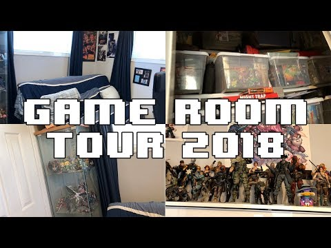 GAME ROOM TOUR 2018