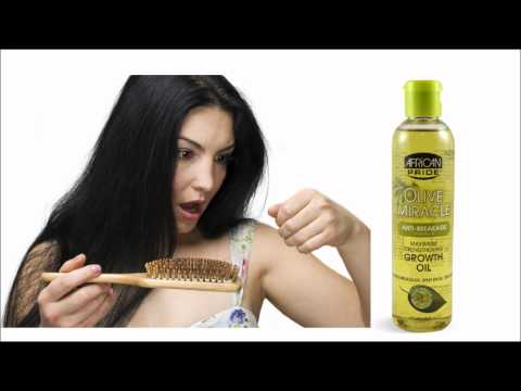 African Pride Olive Miracle Growth Oil Review : At Home Hot Oil Treatment : Prevent Breakage