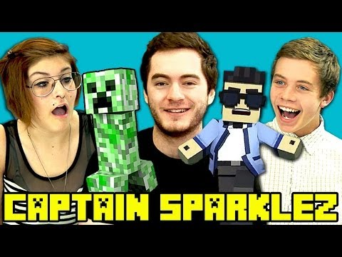 TEENS REACT TO CAPTAINSPARKLEZ