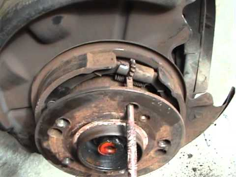 How To Change 1989 Mercedes 300e Rear Disc S And Brake