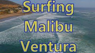 Surfing Malibu Ventura