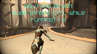 Warframe Melee 2.0: Pointed Wind Moves