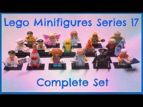 LEGO Minifigures Series 17 - Full Set & Bump Codes!