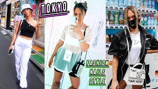 tokyo street style: fashion, nails, trends