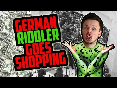 German Riddler Goes Shopping | Germanizing Retro Vlogs | 06