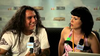 TOM ARAYA (Slayer) Interview on Soundwave
