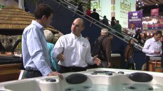 Hydropool at the Ideal Home Show