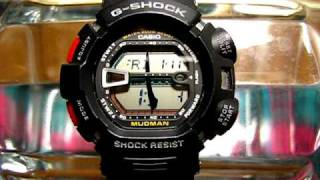 G-shock G-9000 LCD breakage! (miner.glass ok)