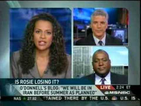 MSNBC News Live Early Afternoon Rosie O'Donnell 04-03-07