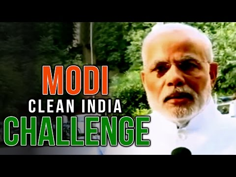 PM Modi nominates Sachin Tendulkar and Salman Khan for Clean India challenge