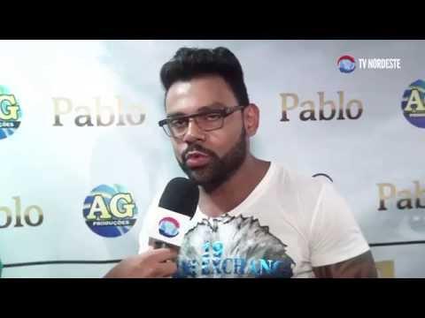 Entrevista  exclusiva com o cantor Pablo (TV NORDESTE)