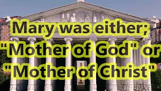 Video: In 431 AD, Council of Ephesus voted on Goddess worship. Mary became the 'Mother of God' - approvedofGod