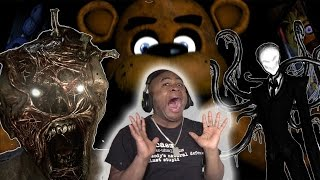BHD Highlights #3 - Worst JUMPSCARES/funny Moments Compilation feat Five Nights At Freddy