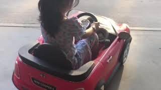 Mini Cooper practice driving