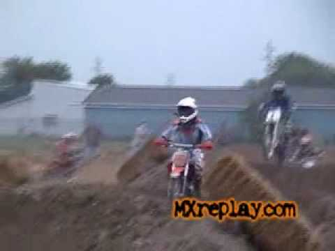 Jordans first year motocross / supercross race age 8 KTM 65