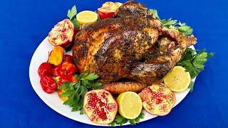 Scotch Bonnet Herb Roasted Turkey