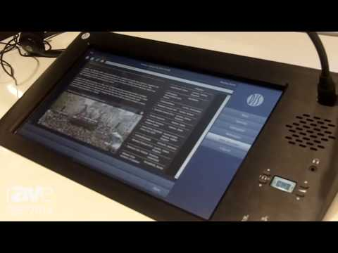 ISE 2014: DIS Conference Equipment Shows Multi-Media TouchScreen Solution