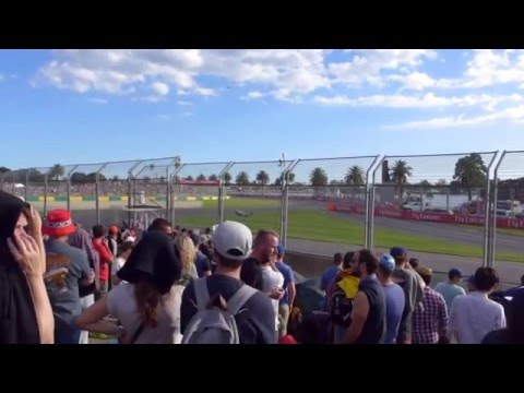 2016 F1 Formula One Real Car Sound Australia Grand Prix