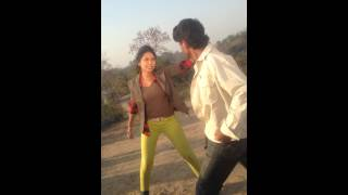 Bangla action movie shooting With Alisha Pradhan in PREMER KAJOL