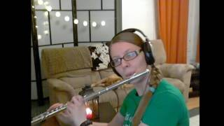 Walking in the Air from The Snowman, flute cover