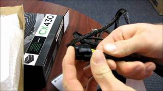 Corsair CX430 Builder Series 430W Power Supply Unboxing & First Look Linus Tech Tips