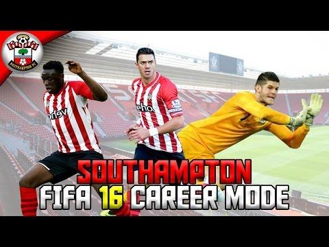 FIFA 16 | SOUTHAMPTON CAREER MODE | EP.1 - A NEW BEGINNING!
