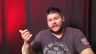 Kevin Owens discusses his weight issues
