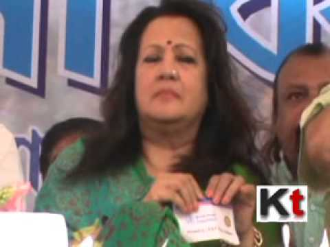 Moonmoon Sen at TMC workers' meeting Purulia