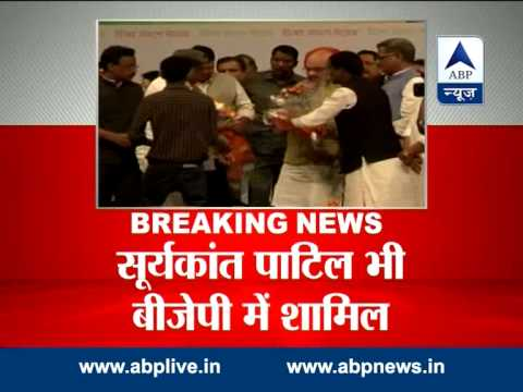 Ashok Chavan's brother-in-law along with 3 other Congress-NCP leaders join BJP