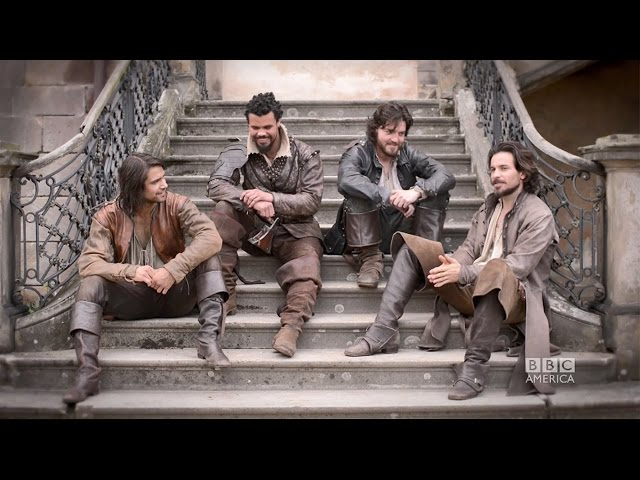 THE MUSKETEERS Insider: Story arcs for Aramis, Athos, Porthos, & D'artagnan!