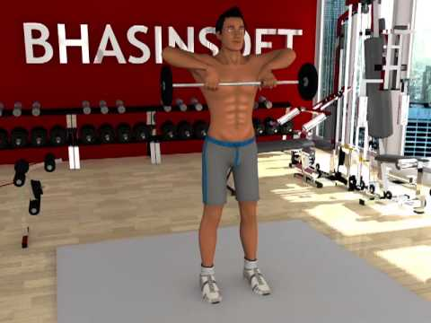 Personal Trainer : Weight Training - Upright Row Image 1