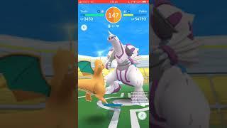 Pokémon Go - Level 5 Raid - Palkia