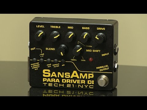 How To Record Using The Tech 21 SansAmp Para Driver V2 Direct Box