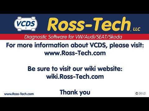 mk4 and B5 Remote Learning with VCDS by Ross Tech