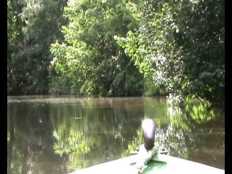 Timelapse Trip along the Trent & Mersey Canal