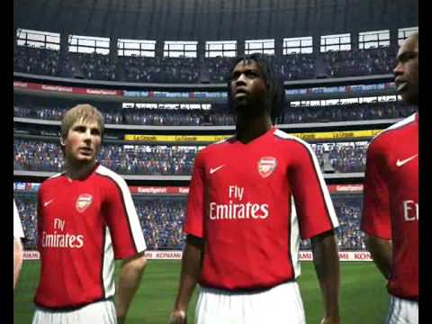 PES 2010 DEMO - BARCLAYS PREMIER LEAGUE PATCH Video