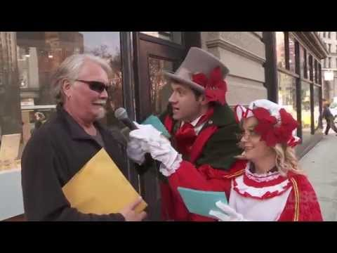 Billy On the Street: Christmas Carol Ambush with Amy Poehler!