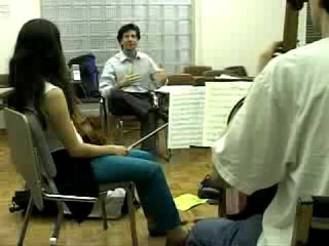 St. Lawrence String Quartet seminar part. 1