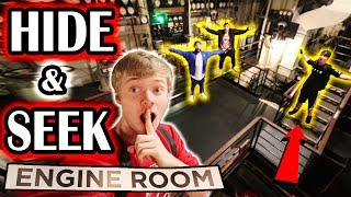 HIDE AND SEEK on HAUNTED GHOST SHIP (Basement)