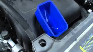 2011 Ford Edge oil change with MercyGirl