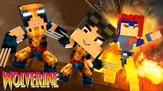 Minecraft: WHO'S YOUR FAMILY? - OS BEBES MALUCOS DO WOLVERINE E DA JEAN GREY