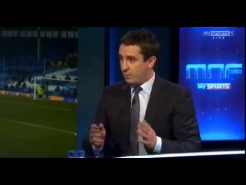Gary Neville analysis on David De Gea 90thmin