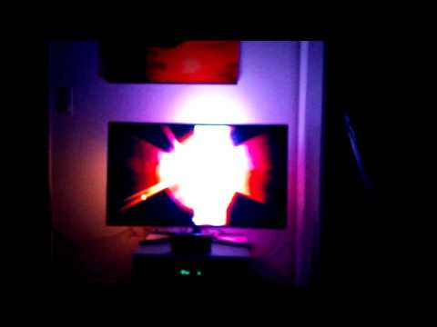 Raspberry Pi Ambilight Test With RGB Laser