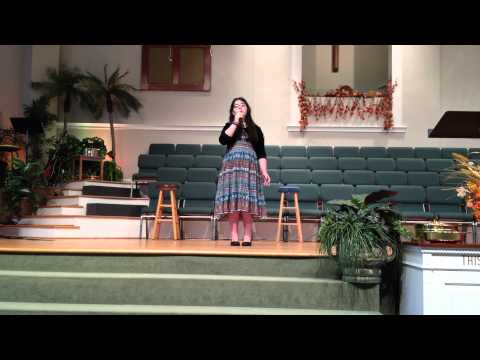 Gabby.gordillo Singing Blessings By Laura Story video