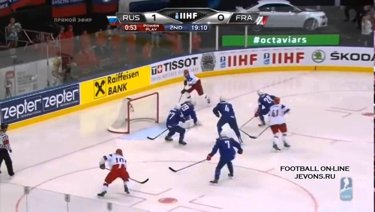 Прогнозы Россия Франция Хоккей
