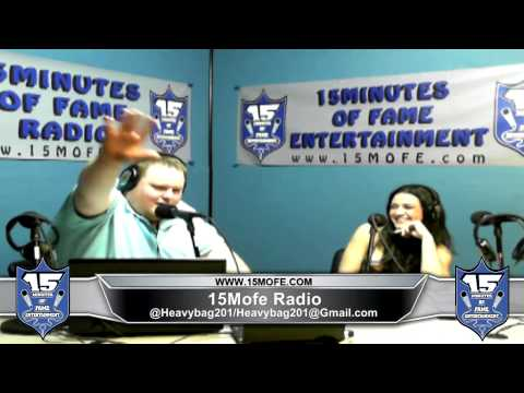 Kat Dahlia KatDahlia interview on 15 Minutes Of Fame Radio w HeavyBag201