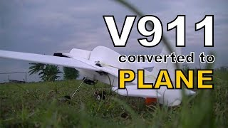 v911 converted to plane