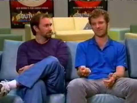 Trey Parker & Matt Stone on CBS Morning News 04/12/2005